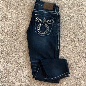 Vintage Collection Big Star Crop Jean